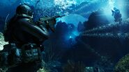 Underwater ambush COD Ghosts