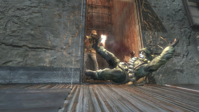 File:Personal AdvancedRookie Kowloon taking down enemy by hiding in ladderway.png