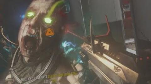 Exo Zombies MP11 Wallgun Challenge! - Call of Duty- Advanced Warfare Gameplay