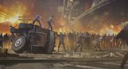 Survivors vs Zombies BOII