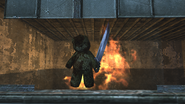Fly Trap Teddy Bear Window WaW
