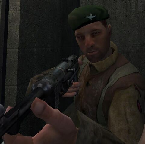 File:Gerald Ingram holding the MP40 Dulag IIIA COD1.jpg