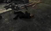 Boris Vorshevsky's corpse glitch MW3