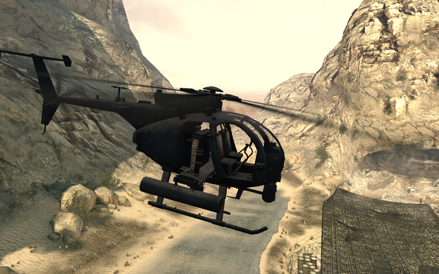 File:AH-6 Little Bird side view Just Like Old Times MW2.png