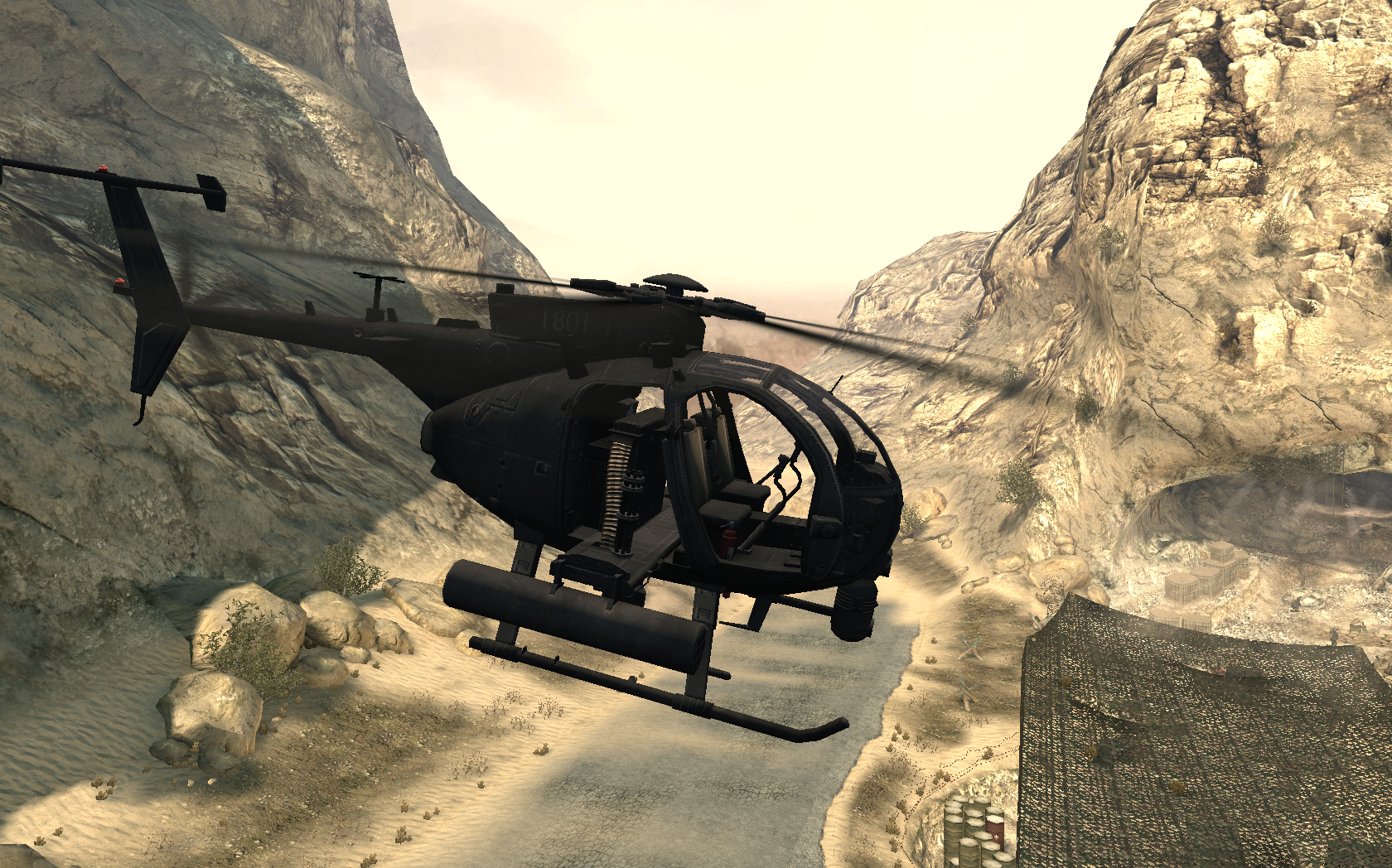 Image - AH-6 Little Bird side view Just Like Old Times MW2 ...