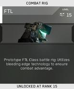 FTL Unlock Card IW