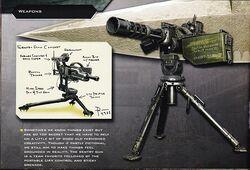 Sentry Gun Concept Art