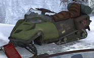 Snowmobile in museum MW2
