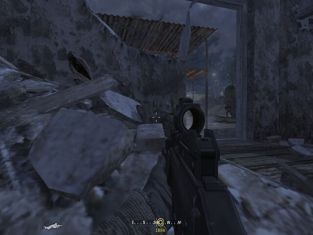 File:Proning on rubble near exit overlooking barn Hunted CoD4.jpg