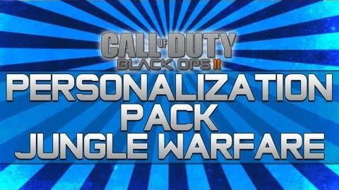 Black Ops 2 - Personalization Pack Jungle Warfare!! (Camo, Reticle and Calling Card)