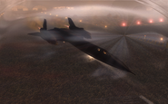SR-71 Blackbird taking off WMD BO