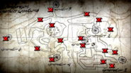 Empty Perk Bottle locations map Origins BO2