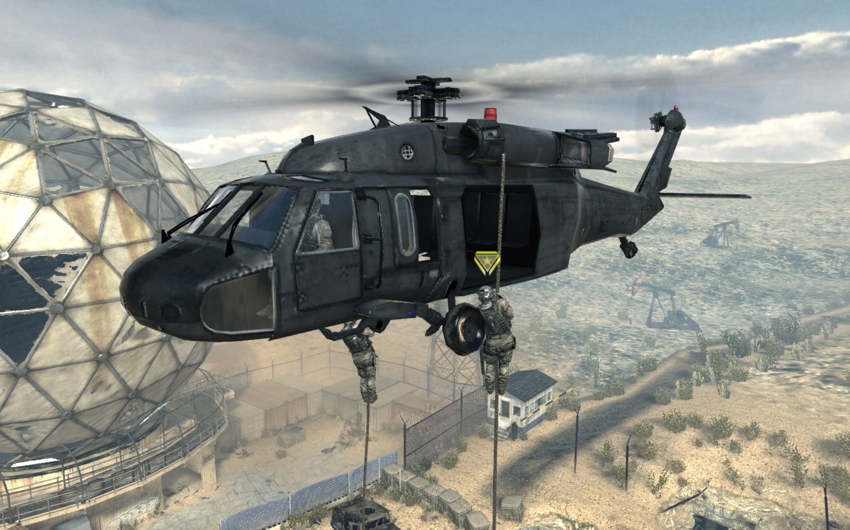 Image - UH-60 Blackhawk Dome MW3.png   Call of Duty Wiki ...