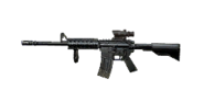 Weapon m4carbine acog