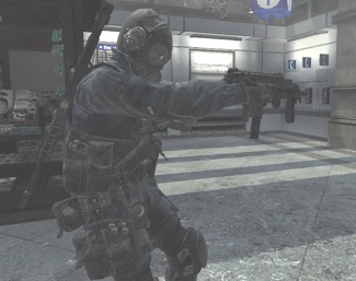 File:SAS soldier holding MP9 akimbo MW3.jpg