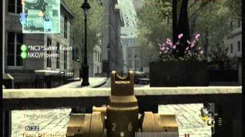 Modern Warfare 3 Wii Golden Gun Showcase Episode II SCAR-L