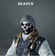 Reaper Face Paint BO