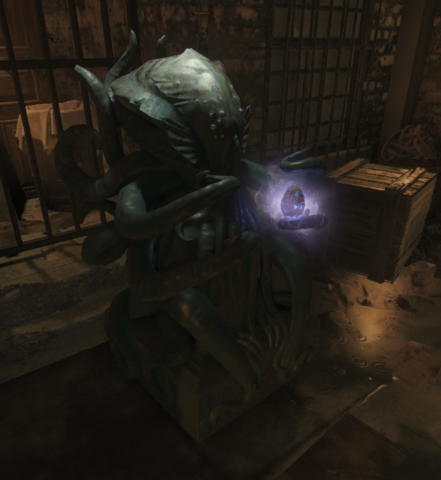 File:Shadows of Evil Completed Apothicon Egg on Stand BOIII.png