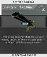 Gravity Vortex Gun Unlock Card IW