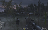 House on right side Blackout CoD4