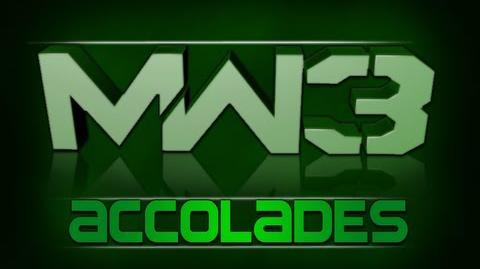 Modern Warfare 3 - All Accolades How They're Unlocked