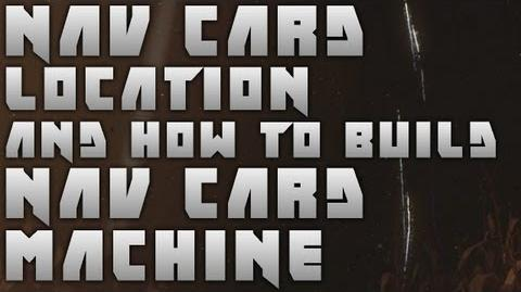 Black Ops 2 Zombies TranZit Nav Card Location And How To Build Nav Card Machine