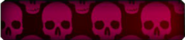 Pink Skulls Background BO