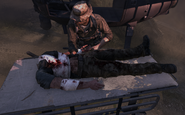 Soap's headless body Prologue MW3