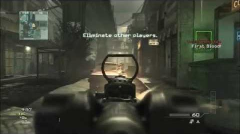 Call of Duty Modern Warfare 3 Free for All with SCAR-L
