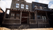 Studio Western set buildings BOII