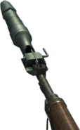 Arisaka Rifle Grenade equipped WaW