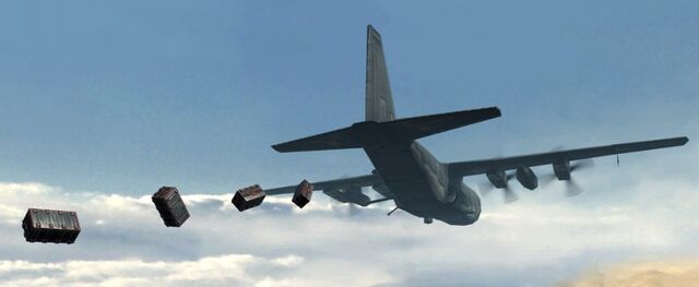 File:Emergency Airdrop dropping packages MW2.jpg