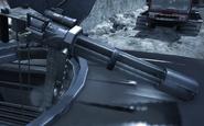 Minigun mounted on a technical