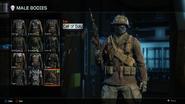 Call of Duty Body Male BO3