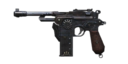 Mauser C96 side view BOII