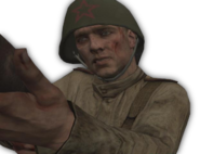 Coop Russian Campaign Character Model WaW