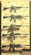 M4A1 FNG rack CoD4
