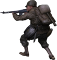 BAR 3rd person Ranger CoD2.png