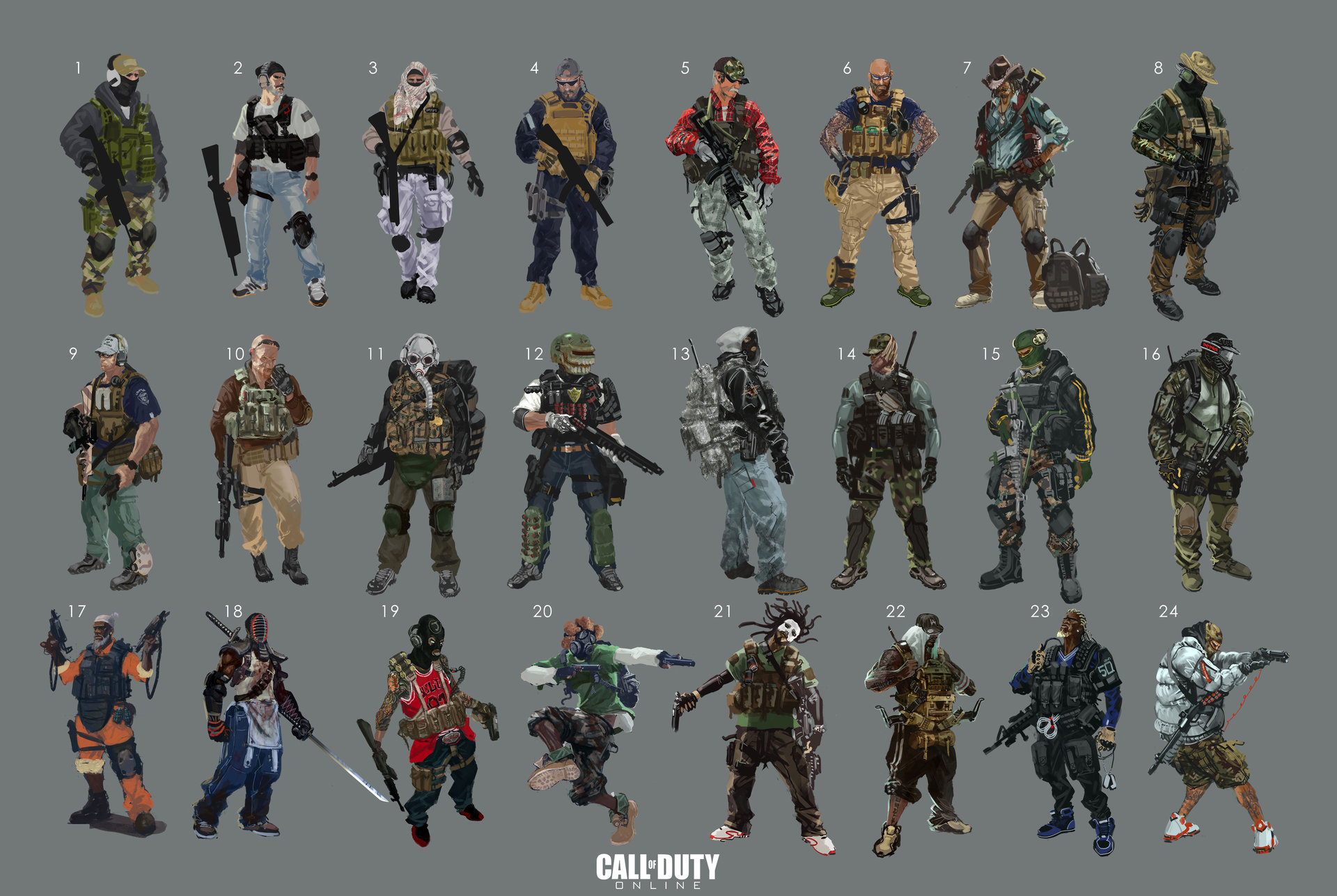 3d Character Creator Call Of Duty Online Call Of Duty Wiki Fandom Powered
