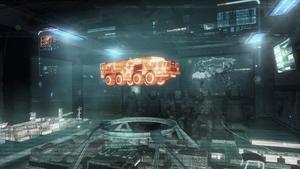MAZ-543 Shipwreck hologram BOII