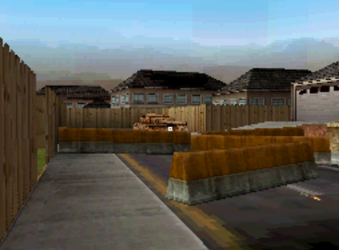 File:Enemy Tank forcing the team off the streets MW3DS.PNG