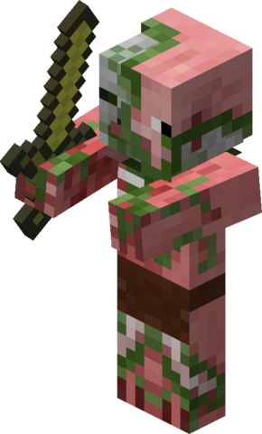 File:Minecraft Zombie Pigman.png