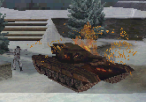 File:Destroyed Russian Armor Isolation MW3DS.PNG