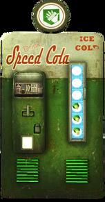 Speed Cola Machine Render