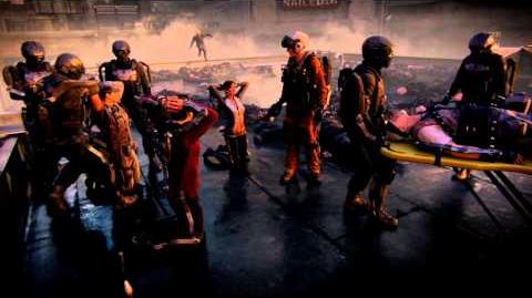 "Advanced Warfare - EXO Zombies ""CARRIER"" Intro Cutscene (AW Supremacy Gameplay)"
