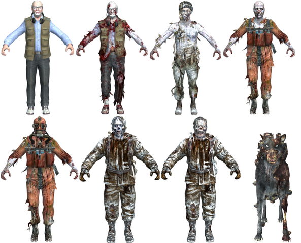 File:Call of the Dead zombie character models BO.png