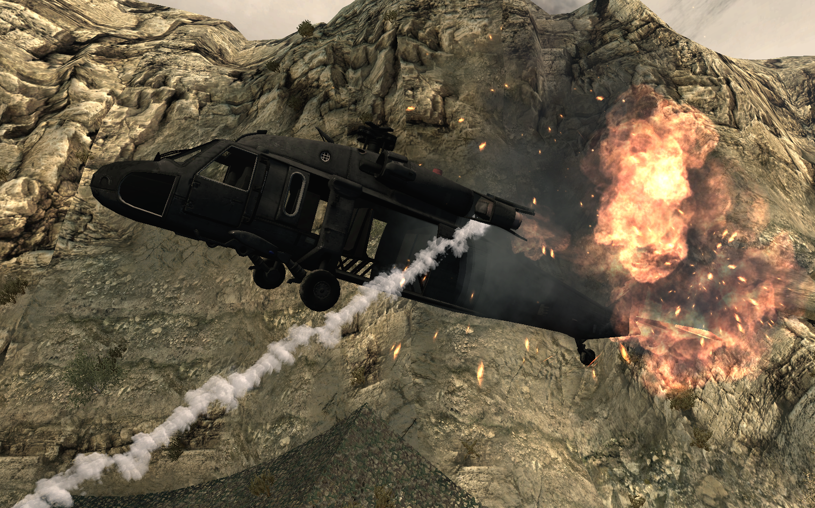 http://vignette3.wikia.nocookie.net/callofduty/images/b/b7/Shadow_Company_Blackhawk_going_down_Just_Like_Old_Times_MW2.png/revision/latest?cb=20121229225925 Black Hawk Down Movie Helicopter Crash
