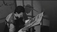 """MOTD Michael """"Finn"""" O'Leary reading newspaper BOII"""
