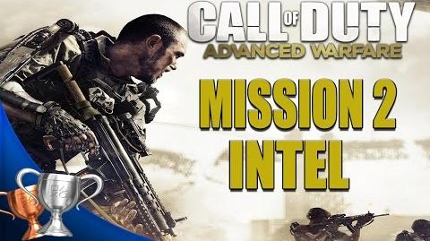 Call of Duty Advanced Warfare - All Intel Locations - Mission 2