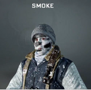 Smoke Face Paint BO